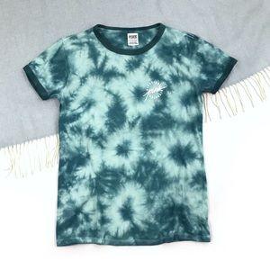 PINK Victoria's Secret | Tie Dye Ringer Tee Tshirt